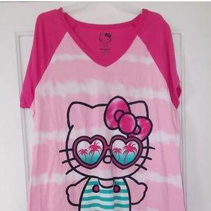 Women's size L/Xl 14-18 Hello Kitty Nightgown